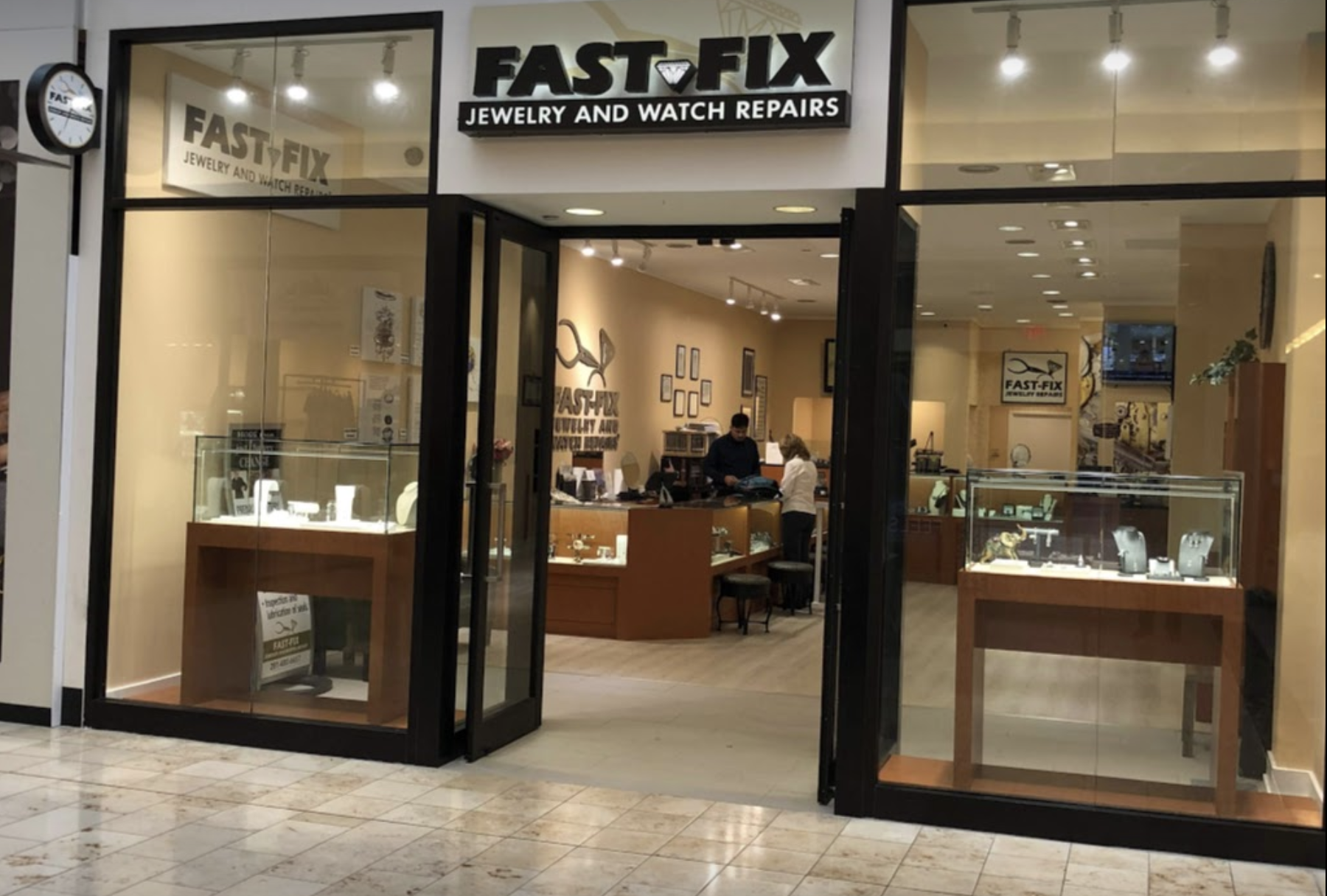 photo of Store front of  Fast Fix Jewelry and Watch Repairs in Baybrook Mall