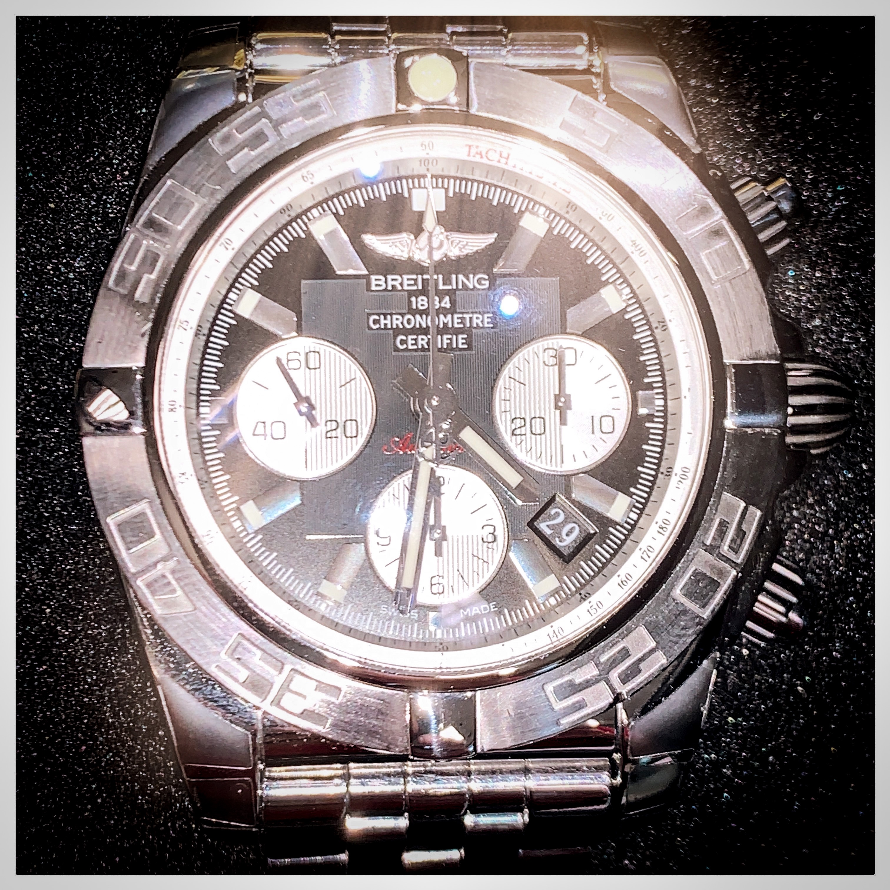 Repaired Breitling