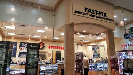 Store front of the Fast-Fix store at Barton Creek Square Mall