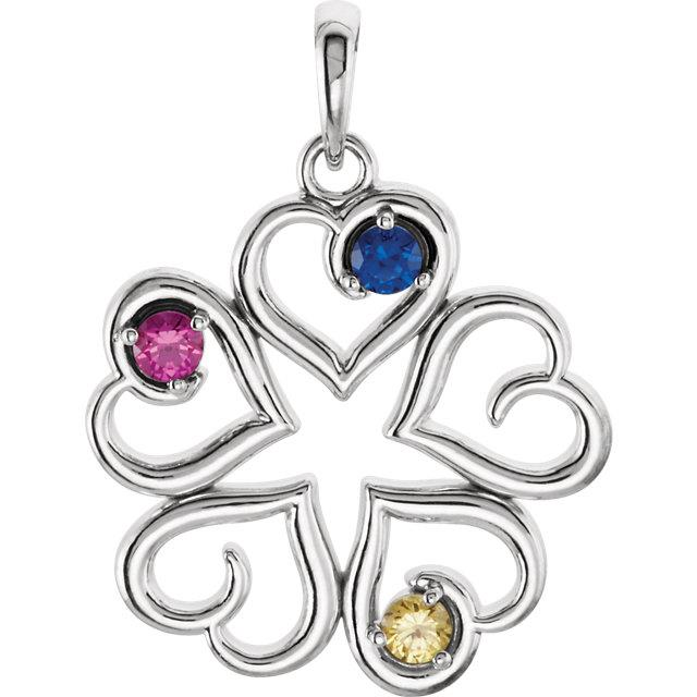 family jewelry pendant