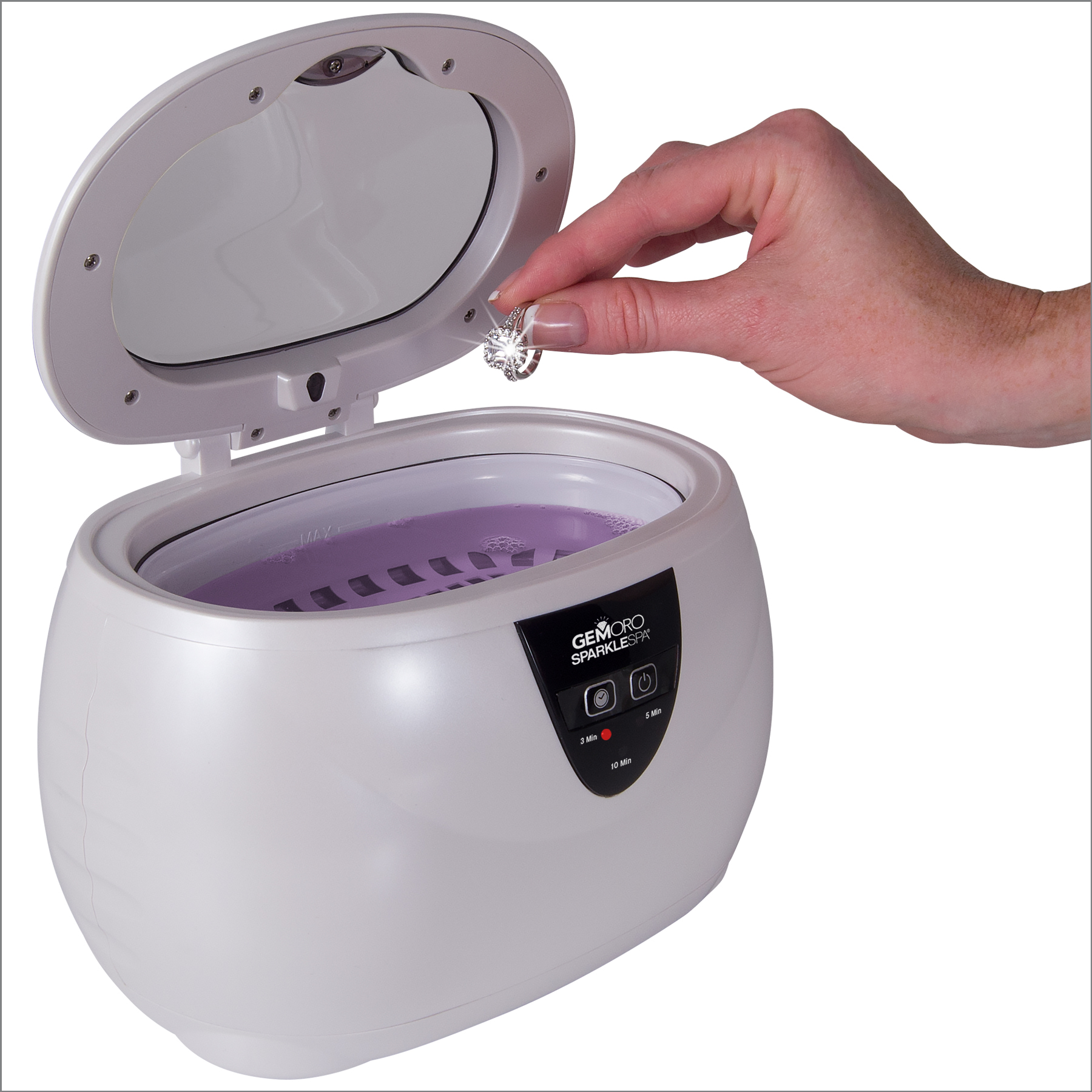 A Sparkle Spa jewelry cleaning unit