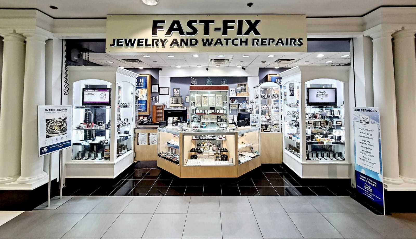 Fast-Fix Jewelry and Watch Repairs Pentagon City Storefront